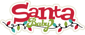 Santa Baby SVG scrapbook title santa svg title christmas svgs christmas svg cuts free svgs