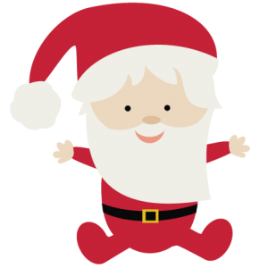 Baby Santa SVG file for scrapbooking christmas svgs santa svg cut file free svgs for scrapbookin cardmaking