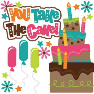 You Take The Cake SVG scrapbook collection birthday svg files birthday svg cuts for scrapbooking cardmaking