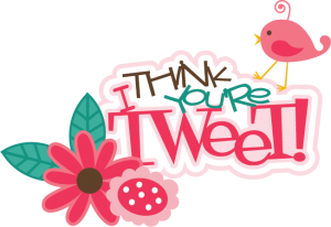 I Think You're Tweet SVG scrapbook title  bird svg file cute svg cuts svg files for scrapbooking free svgs