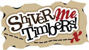Shiver Me Timbers SVG scrapbook title pirate svg file pirate cut file for scrapbooking cute svg cuts