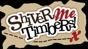 Shiver Me Timbers SVG scrapbook title pirate svg file pirate cut file for scrapbooking cute svg cuts
