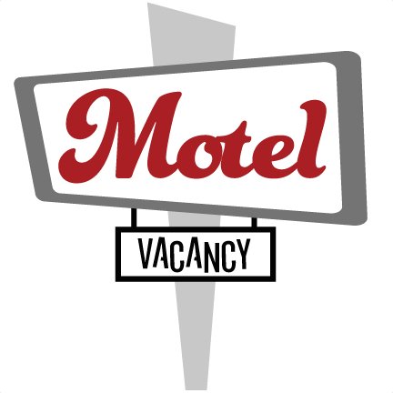 motel vacancy sign svg file for scrapbooking vacation svg