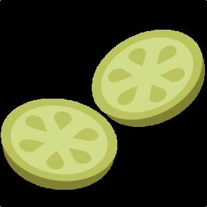 Cucumber Slices SVG file for scrapbooking cardmaking cucumber svg files free svgs