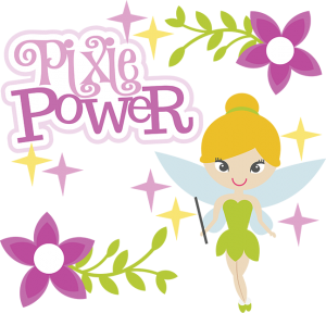 Pixie Power SVG scrapbook collection girl svg files for scrapbooking cute svg cuts free svgs