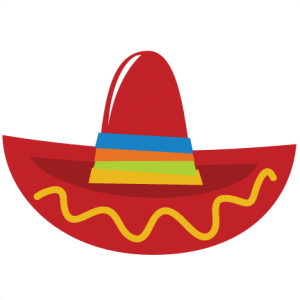 Sombrero SVG file for scrapbooking cardmaking sombrero cut file cute svg cuts for scrapbooks