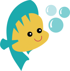 Fish SVG file for scrapbooking cardmaking cute fish svg file cute svg cuts fish cutting files