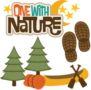 One With Nature SVG file for scrapooking camping svg file camping svg cuts free svgs