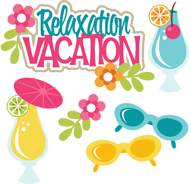 Relaxation Vacation Svg Files For Scrapbooking Free Svgs