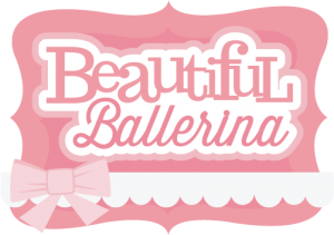 Beautiful Ballerina SVG scrapbook title ballerina svg file ballerina svg cut file free svgs