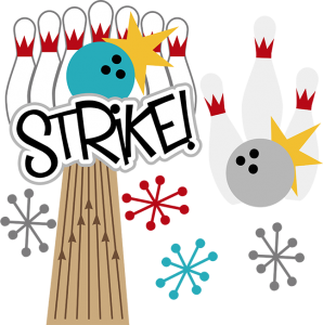 Strike! SVG scrapbook files bowling svg files for scrapbooking bowling svg cut files free svgs