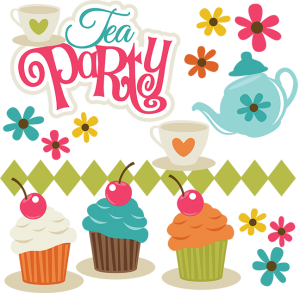 Tea Party SVG Scrapbook Collection svg files for scrapbooks and cardmaking free svgs