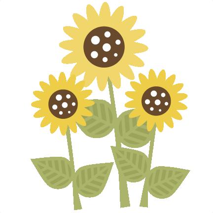 SunflowerSVG scrapbook title sunflower svg file sun svg ...