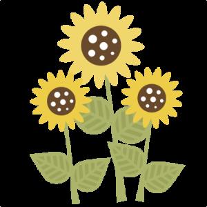 SunflowerSVG scrapbook title sunflower svg file sun svg file svute svg cuts free svgs