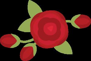 Rose SVG scrapbook file rose svg file rose svg cut file rose cut file for scrapbooks free svgs