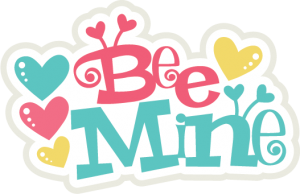 Bee Mine Title SVG file for scrapbooking cardnaking paper crafts free svgs free svg files free svg cuts