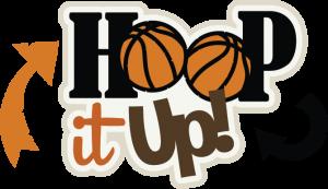 Hoop It Up! SVG scrapbook title basketball svg file basketball svg cut file free svgs free svg files