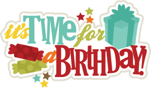 It's Time For A Birthday SVG scrapbook title birthday svg files birthday svg cuts free svgs