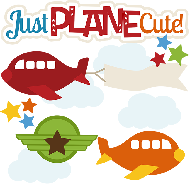 Just Plane Cute Svg Files For Scrapbooking Cardmaking