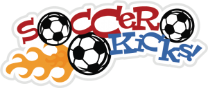 Soccer Kicks SVG scrapbook title soccer svg files soccer svgs free svgs cute svg cuts