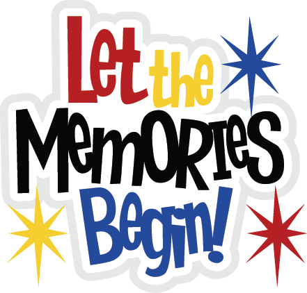 Let The Memories Begin SVG file for scrapbooking cute svg ...