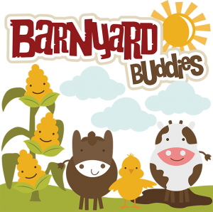 Barnyard Buddies SVG files for scrapbooking cow svg file horse svg file chick svg file free svgs