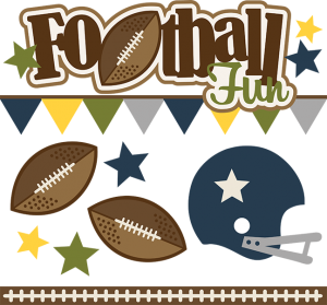 Footbsll Fun SVG file football svg files for scrapbooking football svg cuts for scrapbooks