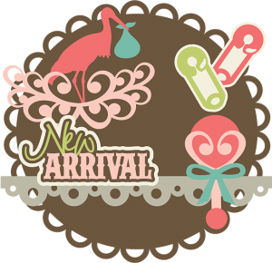 New Arrival SVG files for scrapbooking cards baby svg files baby svg cut files free svgs stork svg file