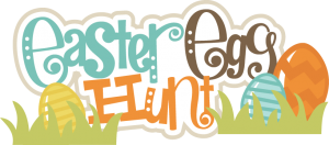 Easter Egg Hunt SVG scrapbook title easter eggs svg file easter svgs cute svg cuts free svgs