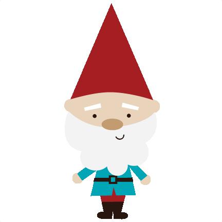 Christmas Gnomes Svg.Garden Gnome Svg Files For Scrapbookin Cards Garden Gnome