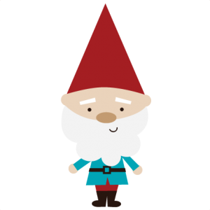 Garden Gnome SVG files for scrapbookin cards garden gnome svg cut free svgs garden svg files