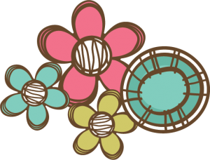 Doodle Flowers SVG files for scrapbooking cardmaking flower svg files free svgs flower svgs cutting machines