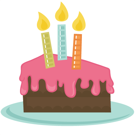 Slice Of Cake Svg File Cake Slice Svg File Birthday Svg Files Free