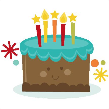 Cute Cake SVG birthday cute birthday svg files birthday cake svg