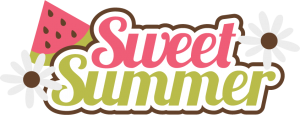 Sweet Summer SVG scrapbook title watermelon svg files free svgs free svg files cute svg cuts