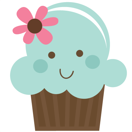 cute cupcake svg file for cards scrapbooking free svgs
