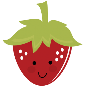 Cute Strawberry SVG file for cutting machines free svg files free svgs strawberry svg files for cutting machines