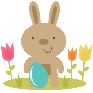 Easter Bunny In Flowers SVG files easter svg file bunny svg file free svgs easter svg cuts