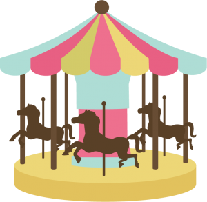 Carousel SVG cutting file carousel svg file for cutting machines carousel svg cut file cute svg cuts