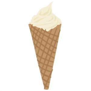Ice Cream Cone SVG file ice cream cone svg ice cream cone svg file for cutting machines svg cuts