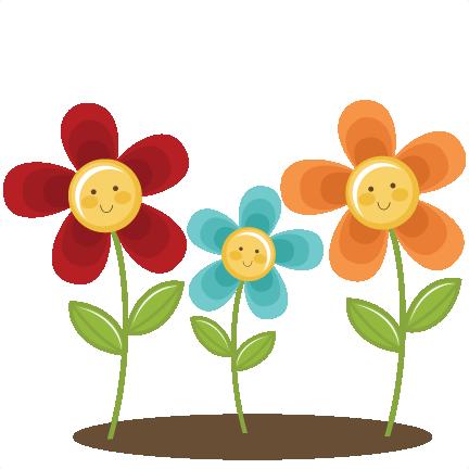 Summer Flowers SVG scrapbook title summer svg files sun svg