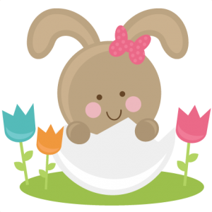 Bunny In Eggs SVG files easter svg file bunny svg file free svgs easter svg cuts cute svg cut files