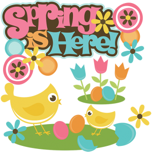 Spring Is Here! SVG cut files for cutting machines spring svg files for scrapbooking free svgs