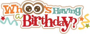 Whoo's Having A Birthday? SVG scrapbook title birthday svg cut owl svg cut file for cutting machines