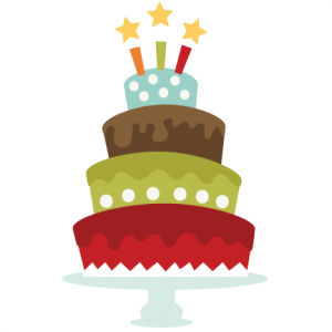 Birthday Cake SVG cut file for cutting machines birthday cake svg file for scrapbooking free svgs