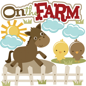 On The Farm SVG collection for scrapbooking farm svg cuts farm cut files pig svg file barn svg file