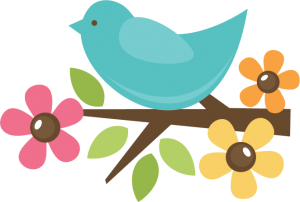 Bird On Twig SVG cut file for scrapbooking svg files bird svg cut files for cutting machines