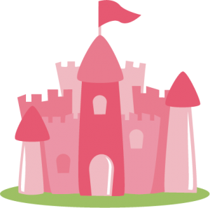 Princess Castle SVG file for scrapbooking princess castle svg cut princess cut files for scrapbooks