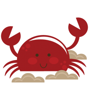Cute Crab SVG cut file for scrapbooking crab svg cut file svg files for cutting machines free svgs