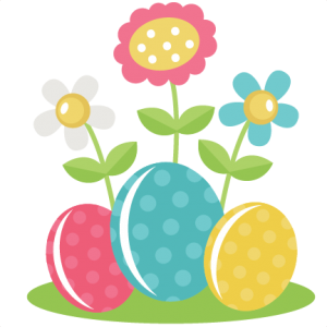 Easter Eggs With Flowers SVG files for scrapbooking free svg files free svgs for cutting machines